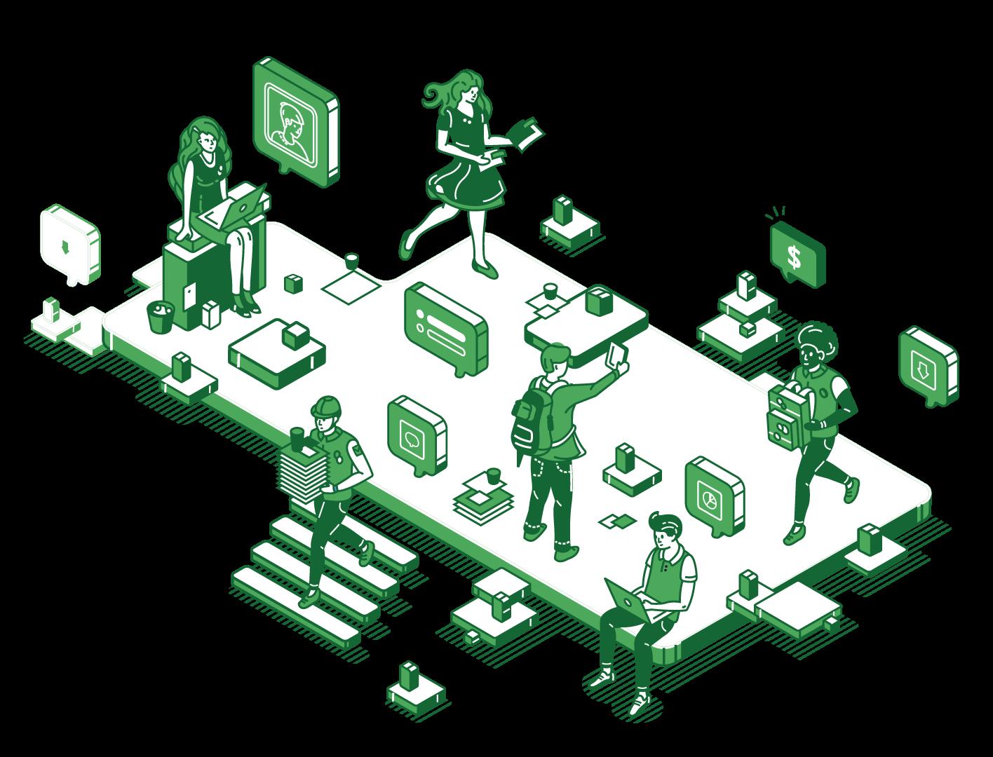 Online Business Management Application