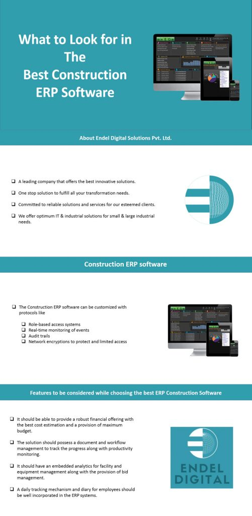 ERP Solutions for Construction Construction ERP Online Software