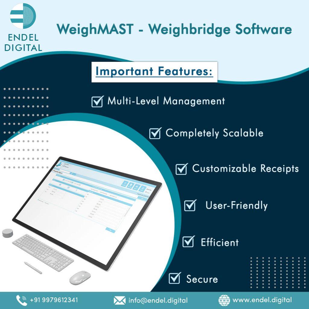 WeighMAST Weighbridge Software Important Features